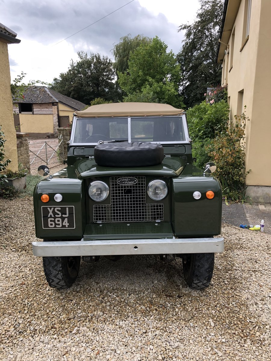 1958 Land Rover series 2 swb 2.25 petrol For Sale (picture 1 of 6)