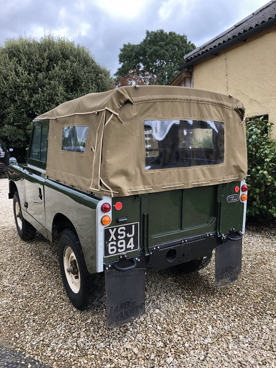 1958 Land Rover series 2 swb 2.25 petrol For Sale (picture 3 of 6)