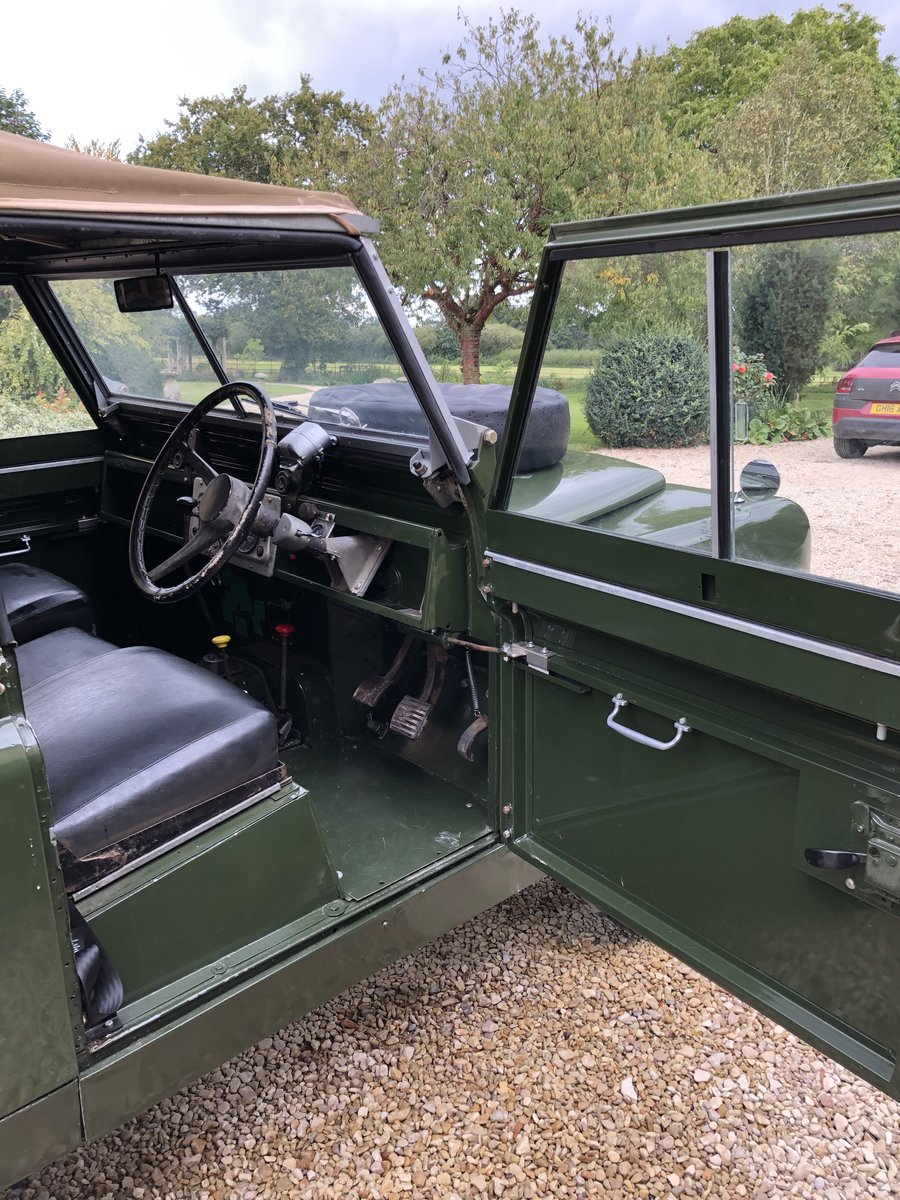 1958 Land Rover series 2 swb 2.25 petrol For Sale (picture 4 of 6)
