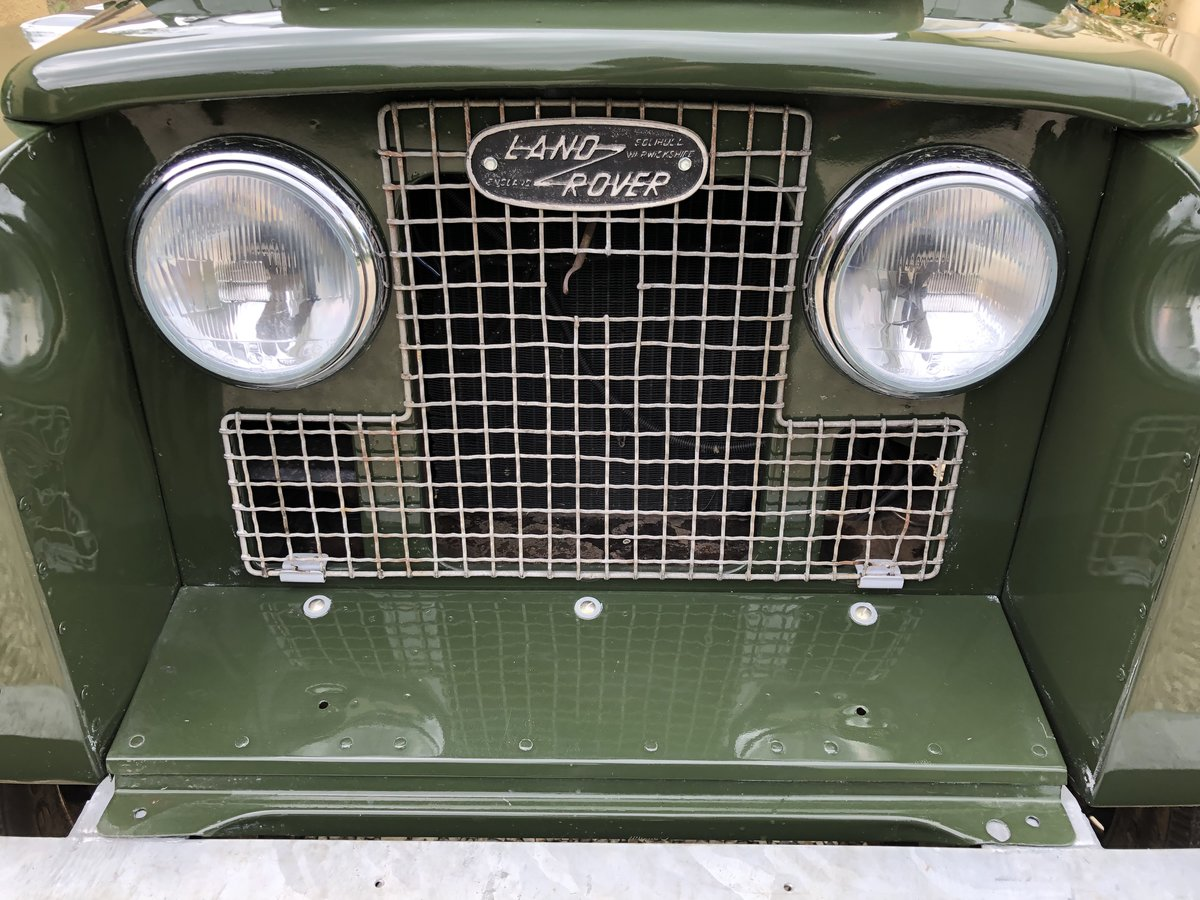 1958 Land Rover series 2 swb 2.25 petrol For Sale (picture 5 of 6)