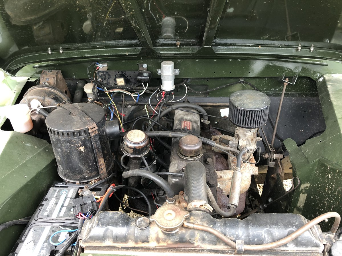 1958 Land Rover series 2 swb 2.25 petrol For Sale (picture 6 of 6)
