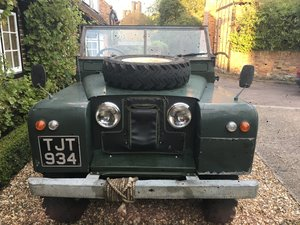 1962 LAND ROVER SERIES 2A OVERDRIVE