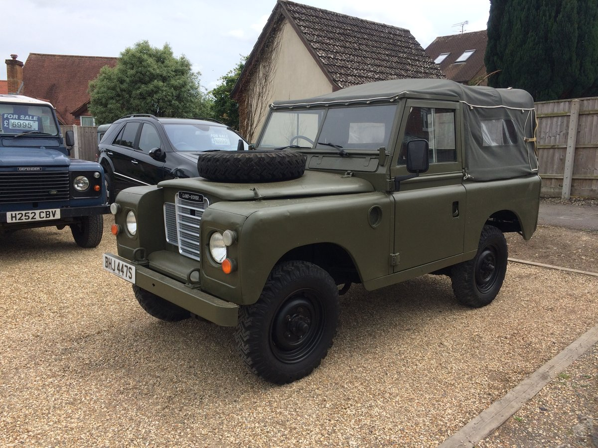 "Land Rover Series 88"". 2.25 petrol. 1979. Ex MOD  For Sale (picture 2 of 6)"