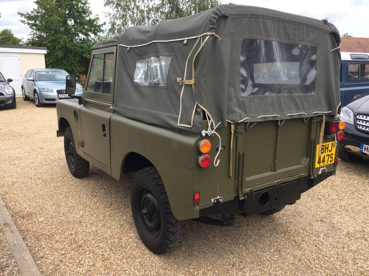 "Land Rover Series 88"". 2.25 petrol. 1979. Ex MOD  For Sale (picture 3 of 6)"