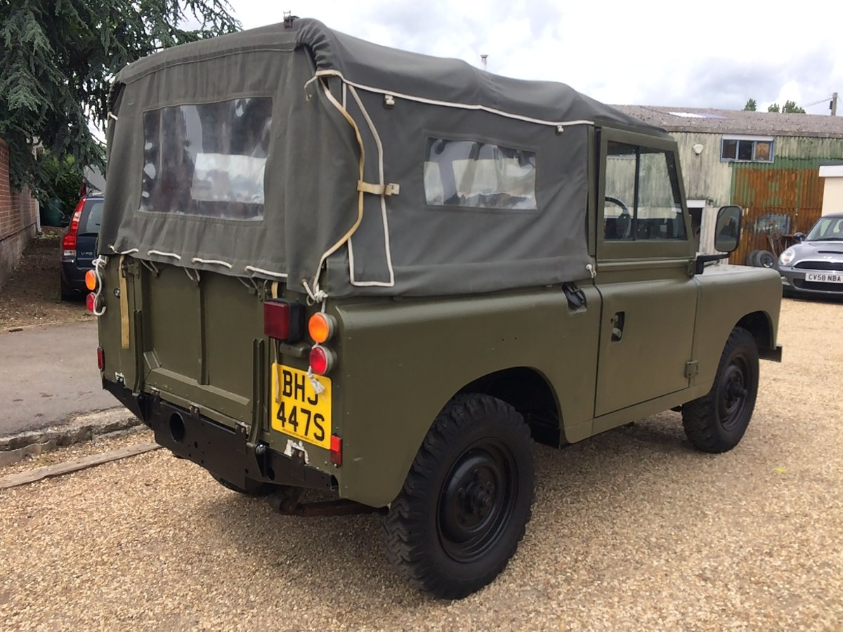 "Land Rover Series 88"". 2.25 petrol. 1979. Ex MOD  For Sale (picture 4 of 6)"