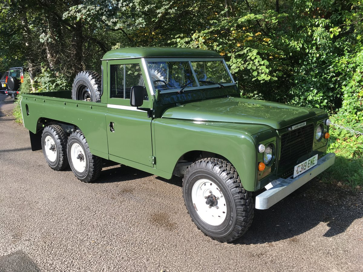 1981 LAND ROVER SERIES 3 – STAGE 1 V8 – TOWNLEY 6 X 6 ! For Sale (picture 1 of 6)