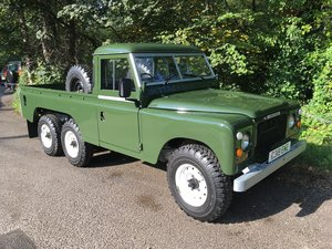 1981 LAND ROVER SERIES 3 – STAGE 1 V8 – TOWNLEY 6 X 6 !