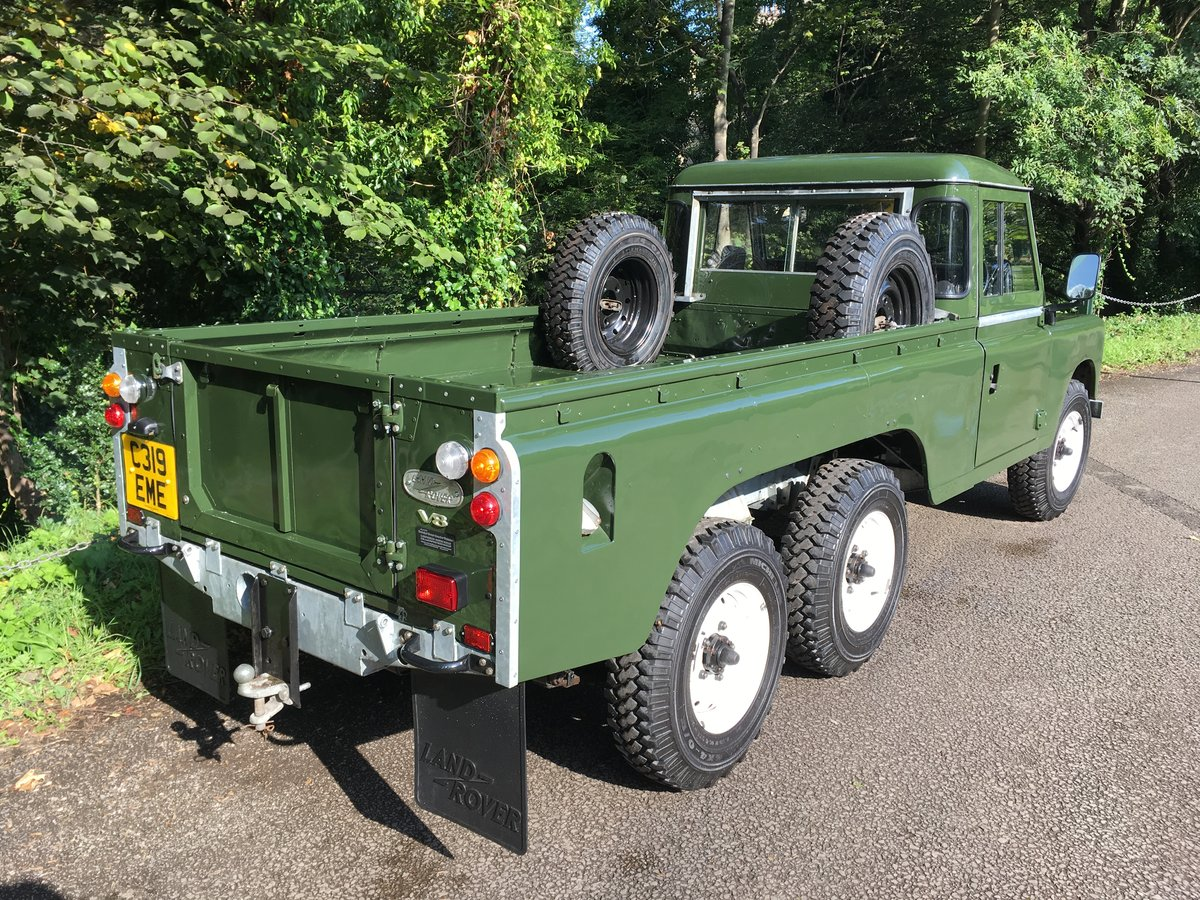 1981 LAND ROVER SERIES 3 – STAGE 1 V8 – TOWNLEY 6 X 6 ! For Sale (picture 3 of 6)