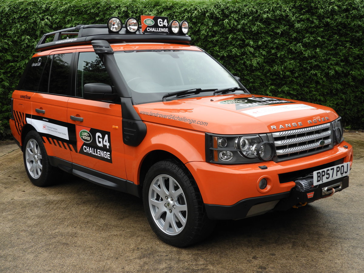 2008 RANGE ROVER SPORT 3.6 TDV8 HSE RARE G4 CHALLENGE !!!! For Sale (picture 1 of 6)