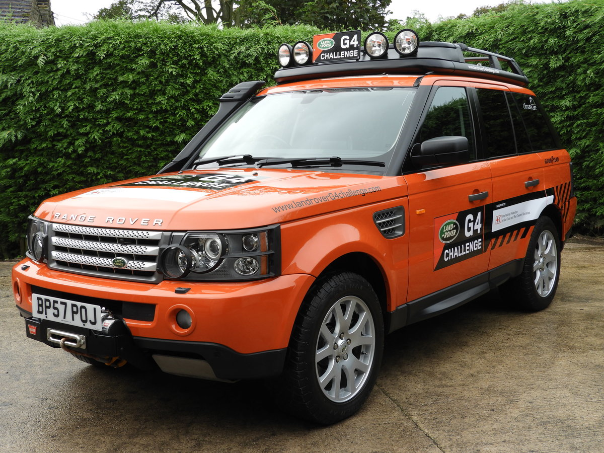 2008 RANGE ROVER SPORT 3.6 TDV8 HSE RARE G4 CHALLENGE !!!! For Sale (picture 2 of 6)