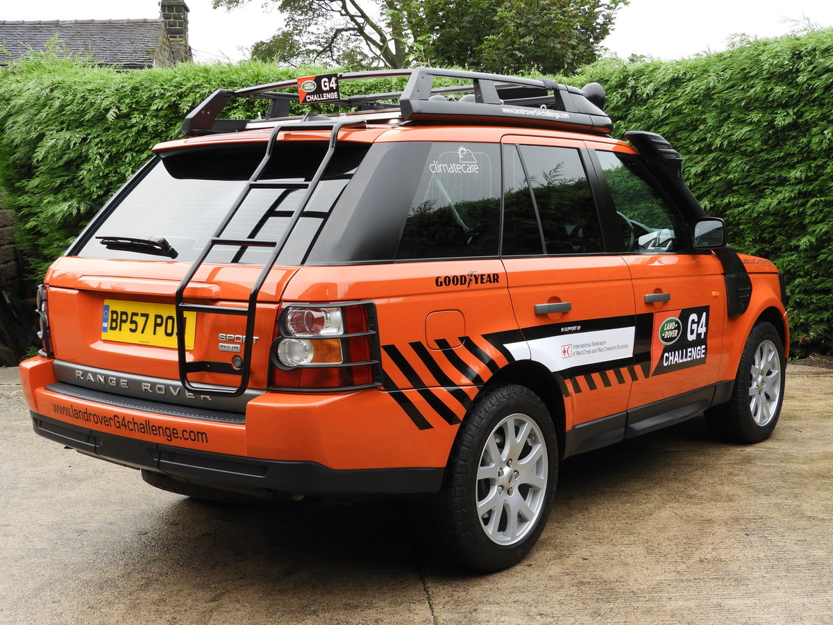2008 RANGE ROVER SPORT 3.6 TDV8 HSE RARE G4 CHALLENGE !!!! For Sale (picture 3 of 6)