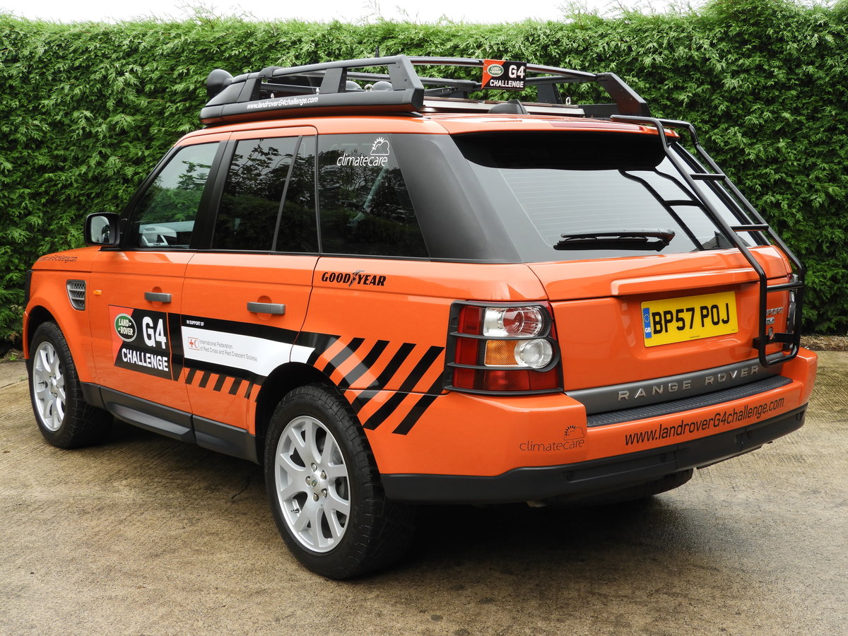 2008 RANGE ROVER SPORT 3.6 TDV8 HSE RARE G4 CHALLENGE !!!! For Sale (picture 4 of 6)