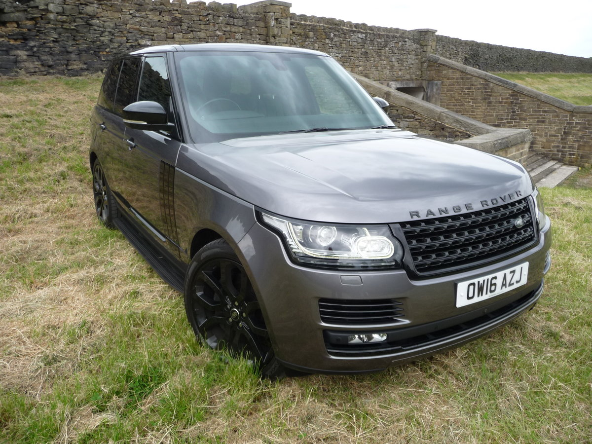 2016 RANGE ROVER 4.4 DIESEL AUTOBIOGRAPHY For Sale (picture 1 of 10)