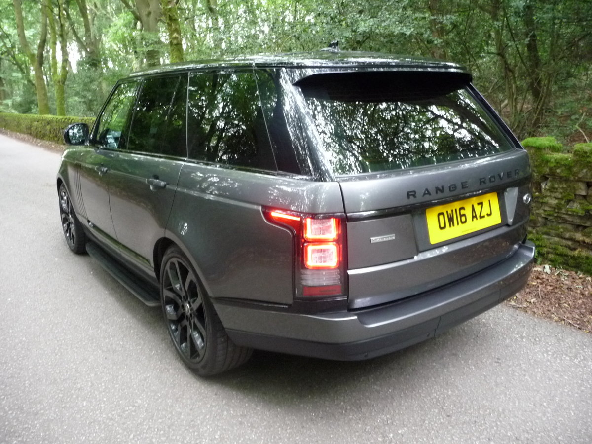 2016 RANGE ROVER 4.4 DIESEL AUTOBIOGRAPHY For Sale (picture 2 of 10)