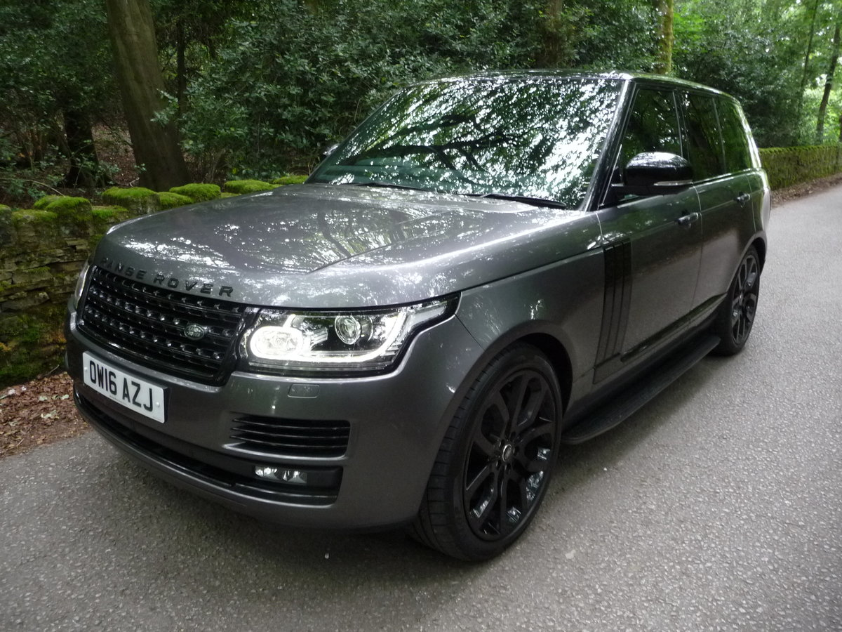 2016 RANGE ROVER 4.4 DIESEL AUTOBIOGRAPHY For Sale (picture 3 of 10)