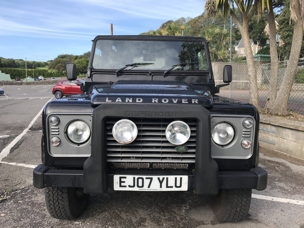 2007 (07) Land Rover Defender 90 2.4 TDi XS For Sale (picture 2 of 6)
