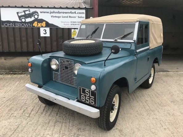 1959 Land Rover ® Series 2 *MOT & Tax Exempt Soft-Top* (LSL) For Sale (picture 1 of 6)