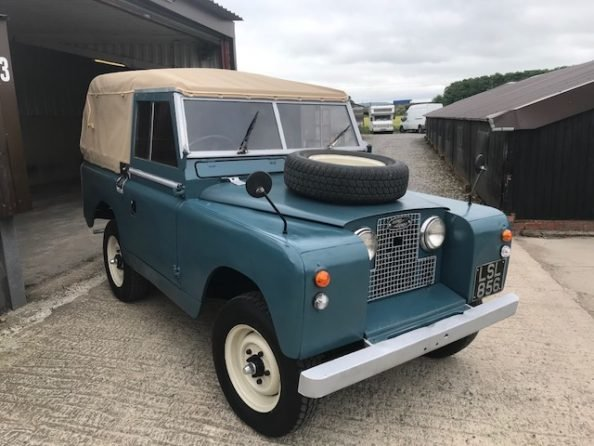 1959 Land Rover ® Series 2 *MOT & Tax Exempt Soft-Top* (LSL) For Sale (picture 2 of 6)