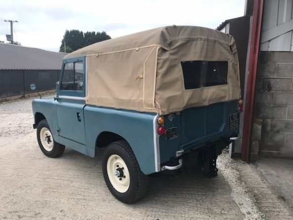 1959 Land Rover ® Series 2 *MOT & Tax Exempt Soft-Top* (LSL) For Sale (picture 3 of 6)