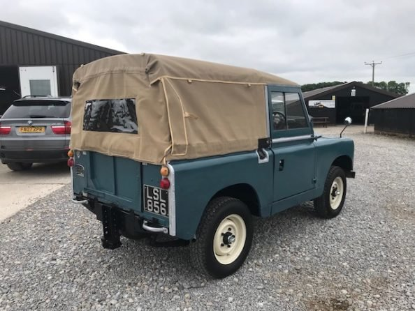 1959 Land Rover ® Series 2 *MOT & Tax Exempt Soft-Top* (LSL) For Sale (picture 6 of 6)
