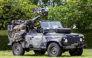 ex-SAS British Army, 1995 LAND ROVER 90 200 TDI For Sale by Auction