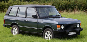 ex-SAS British Army, 1995 RANGE ROVER VOGUE CLASSIC For Sale by Auction