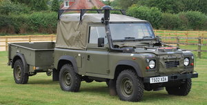 ex-British Army, 1999 LAND ROVER DEFENDER WOLF For Sale by Auction