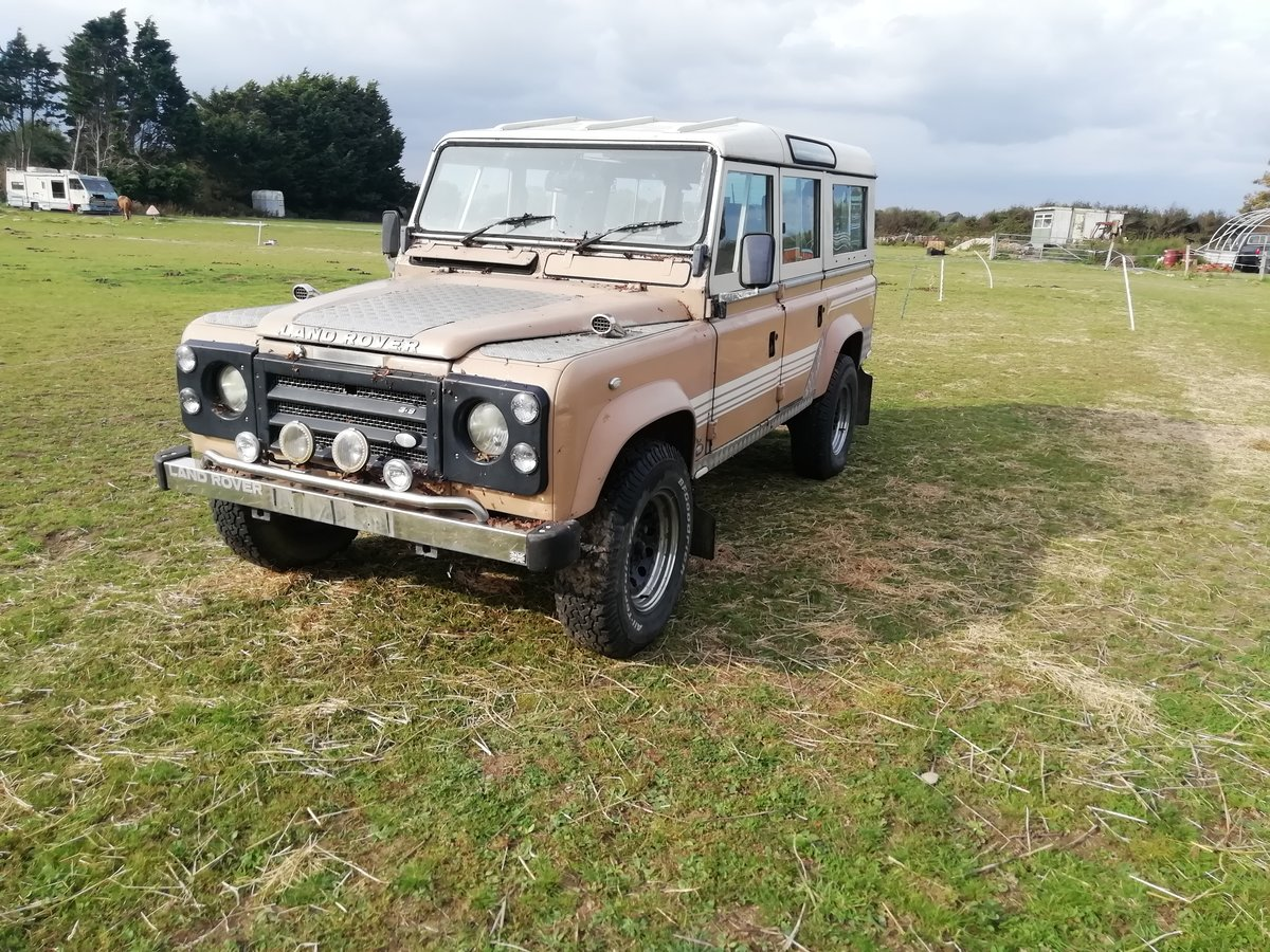 1983 Land Rover V8 petrol auto SOLD (picture 1 of 6)