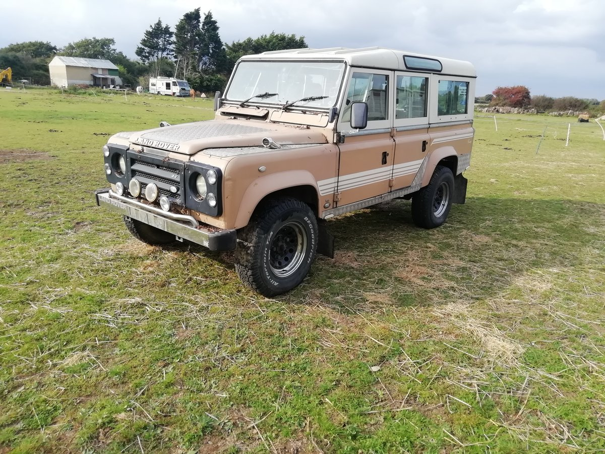 1983 Land Rover V8 petrol auto SOLD (picture 5 of 6)