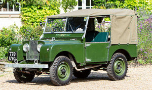 1953 LAND ROVER SERIES 1 For Sale by Auction