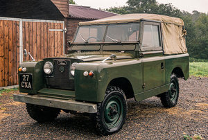 1961 LAND ROVER SERIES 2 88 INCH For Sale by Auction