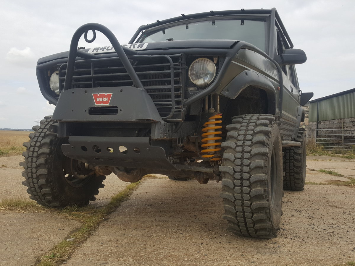 1994 Landrover Discovery  Bob Tailed off roader For Sale (picture 1 of 6)