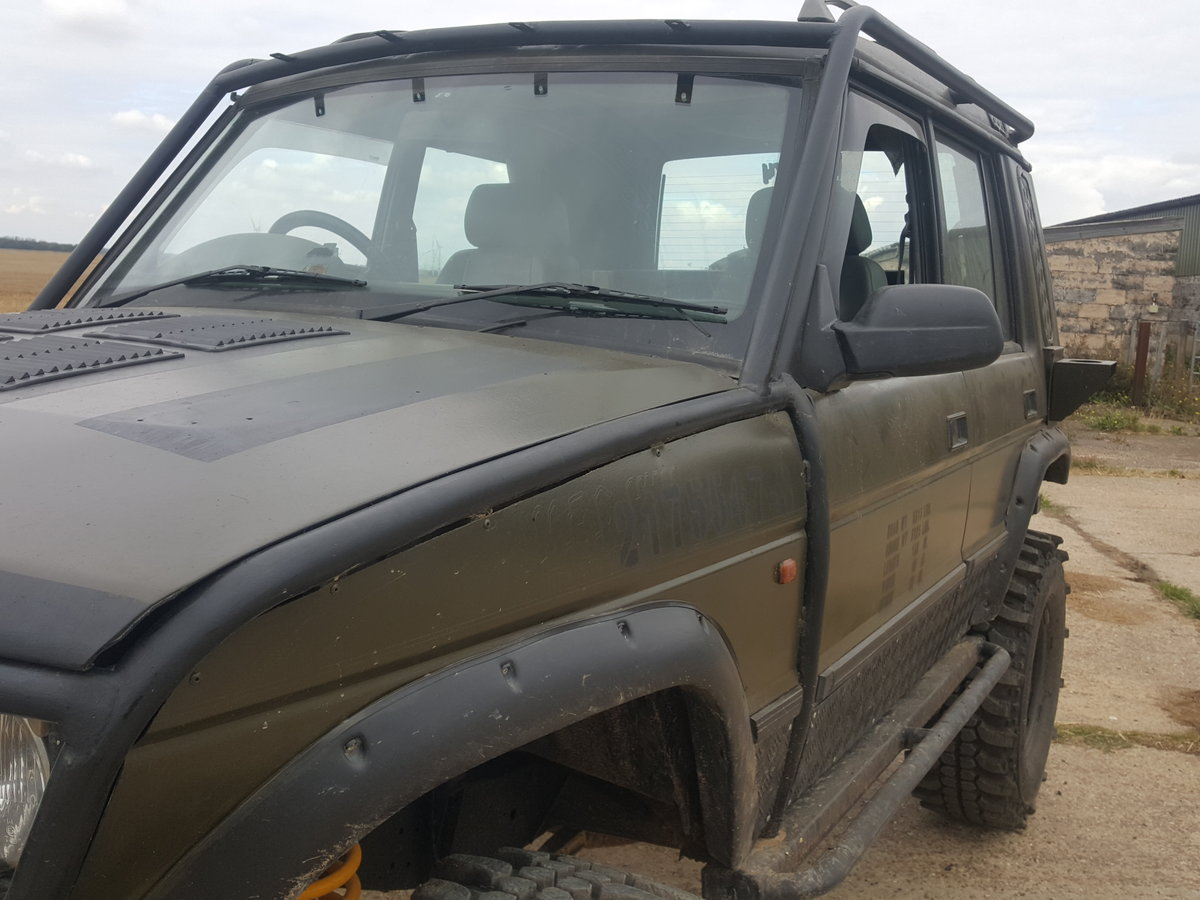 1994 Landrover Discovery  Bob Tailed off roader For Sale (picture 6 of 6)