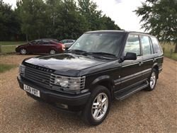 2001 Range Rover P38 Vogue 4.6 -Barons Friday 20th September 2019 SOLD by Auction
