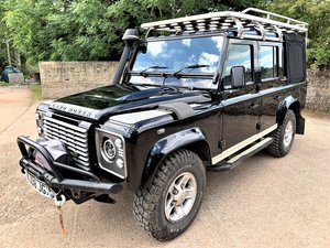 very high spec 2008 Defender 110 TDCi doublecab+just 64K