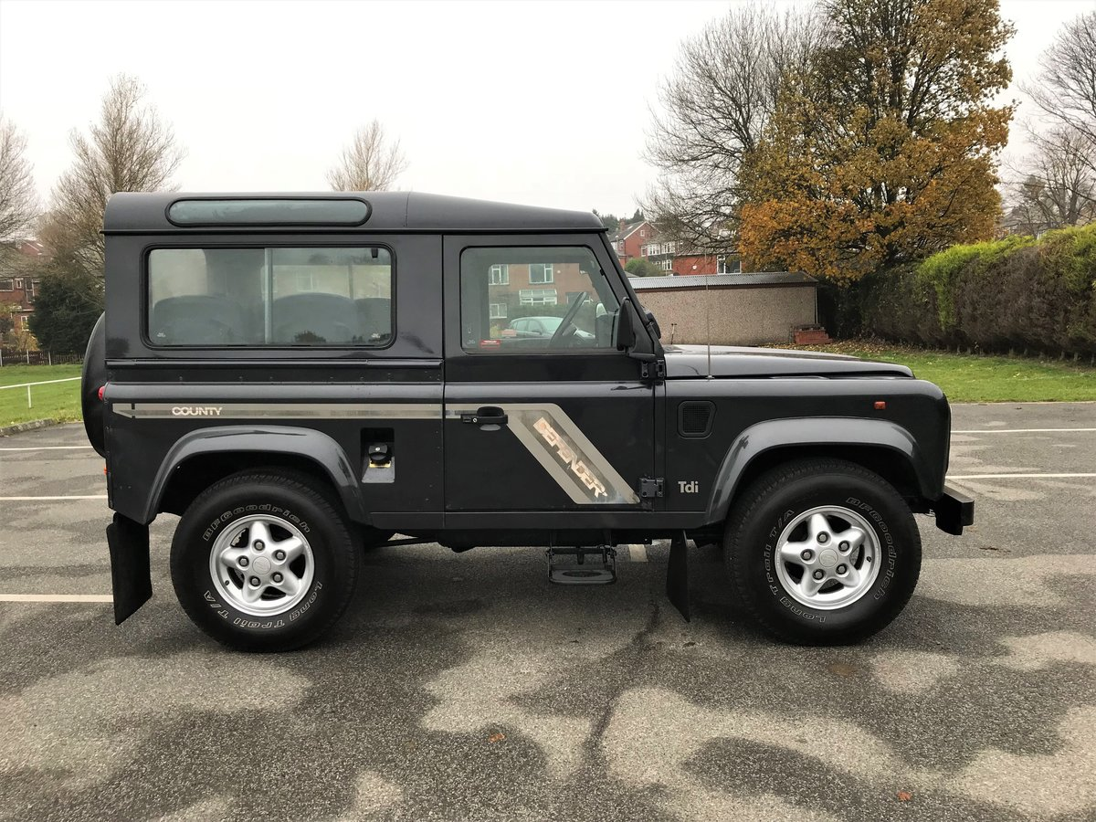 1996 Defender 90 County Station Wagon 300 Tdi 1 OWNER 63,000 mile For Sale (picture 2 of 6)