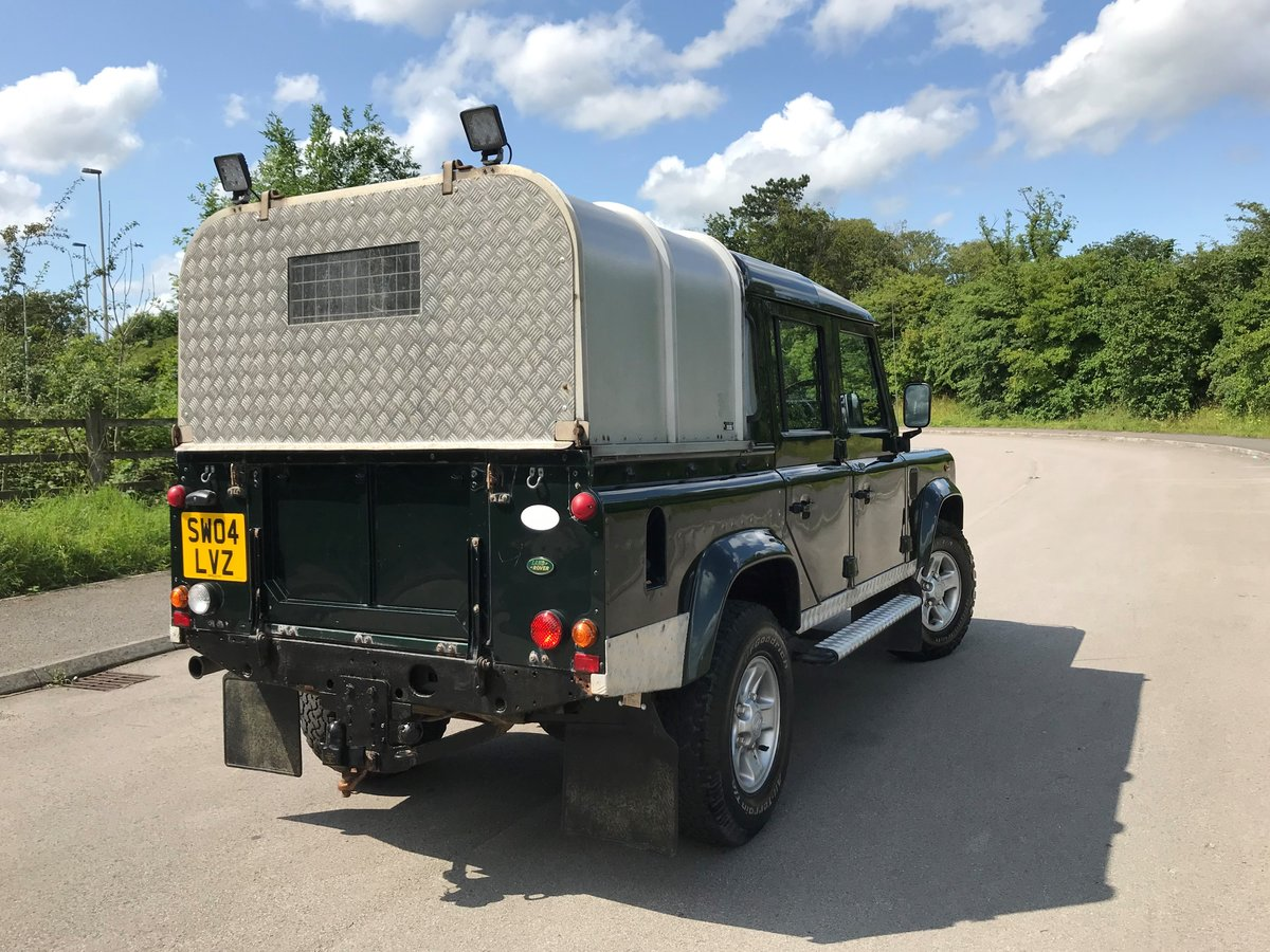 2004 DEFENDER 110 DOUBLE CAB XS Td5  *TOP OF THE RANGE MODEL* For Sale (picture 3 of 6)