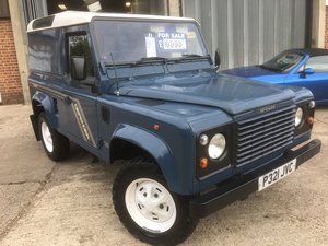 1996 Land rover defender 90 300 tdi county For Sale