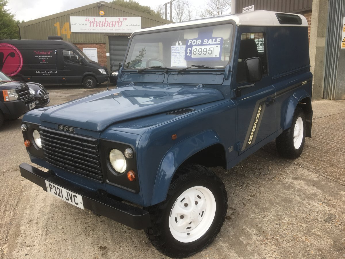1996 Land rover defender 90 300 tdi county For Sale (picture 2 of 6)