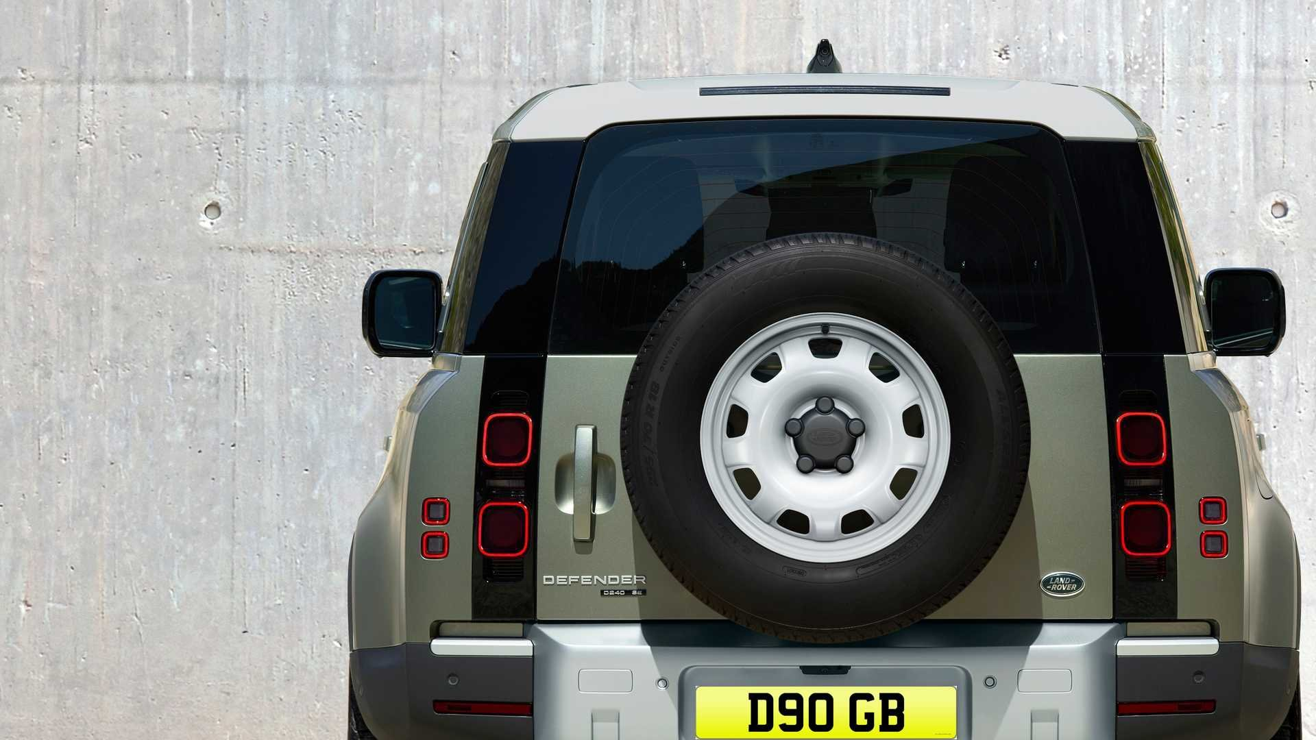 1986 D90 GB - Registration Plate for Defender 90. For Sale (picture 2 of 3)