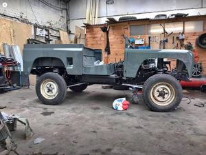 1991 Land Rover defender 90 left hand drive project For Sale