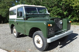 1966 LAND ROVER IIA GALV CHASSIS LO MILES HUGE HISTORY FILE  SOLD