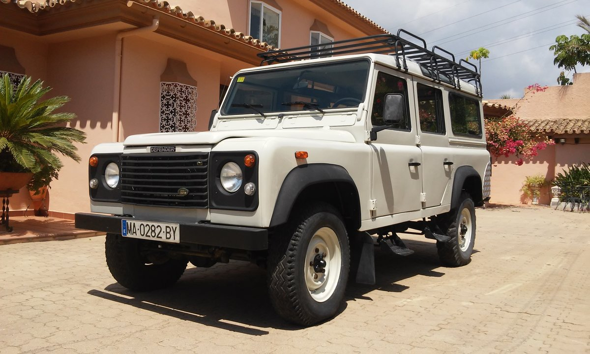Land Rover Defender 110 Tdi     1996  For Sale (picture 1 of 6)