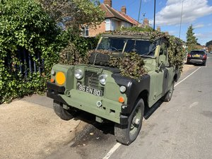 1965 Land Rover Series IIA 109 INCH Basic Ex Army