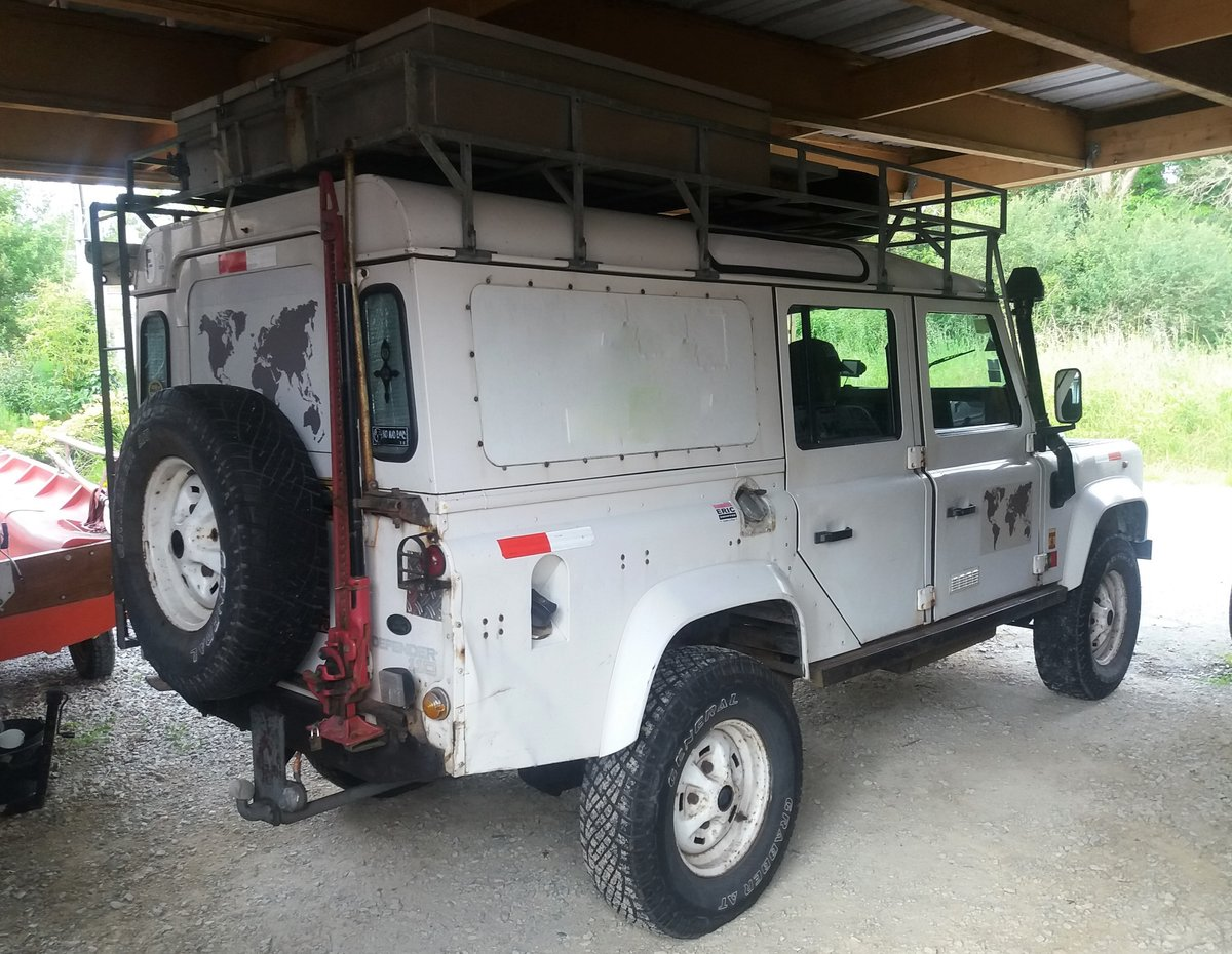 1995 Land Rover Defender 300 tdi sw lhd For Sale (picture 2 of 6)