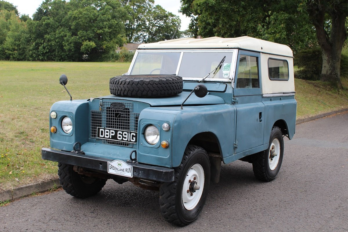 Land Rover Series IIA SWB 1969 - To be auctioned 25-10-19 For Sale by Auction (picture 1 of 6)