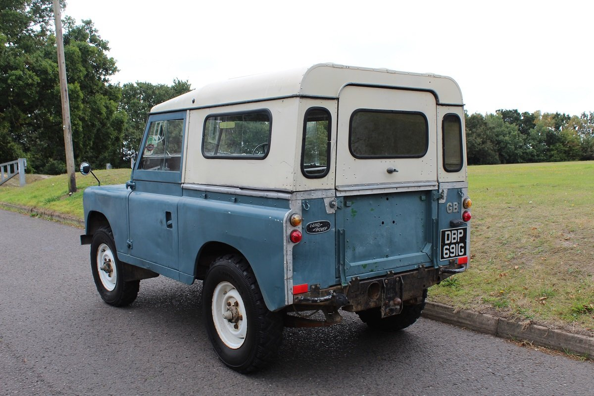 Land Rover Series IIA SWB 1969 - To be auctioned 25-10-19 For Sale by Auction (picture 2 of 6)
