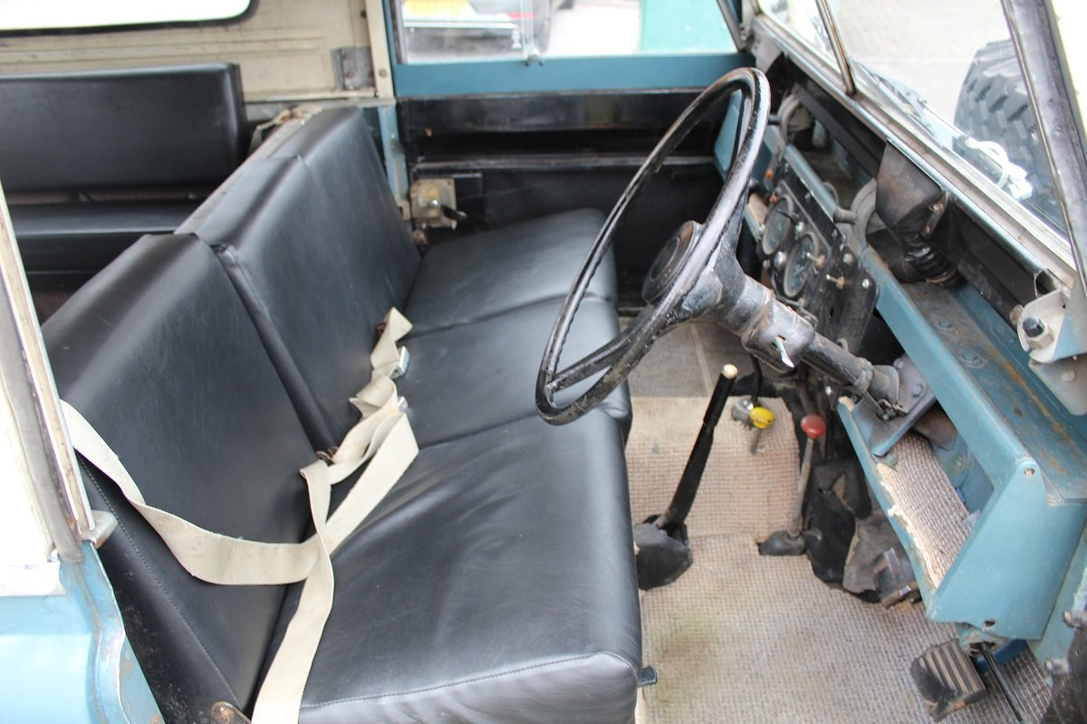 Land Rover Series IIA SWB 1969 - To be auctioned 25-10-19 For Sale by Auction (picture 3 of 6)