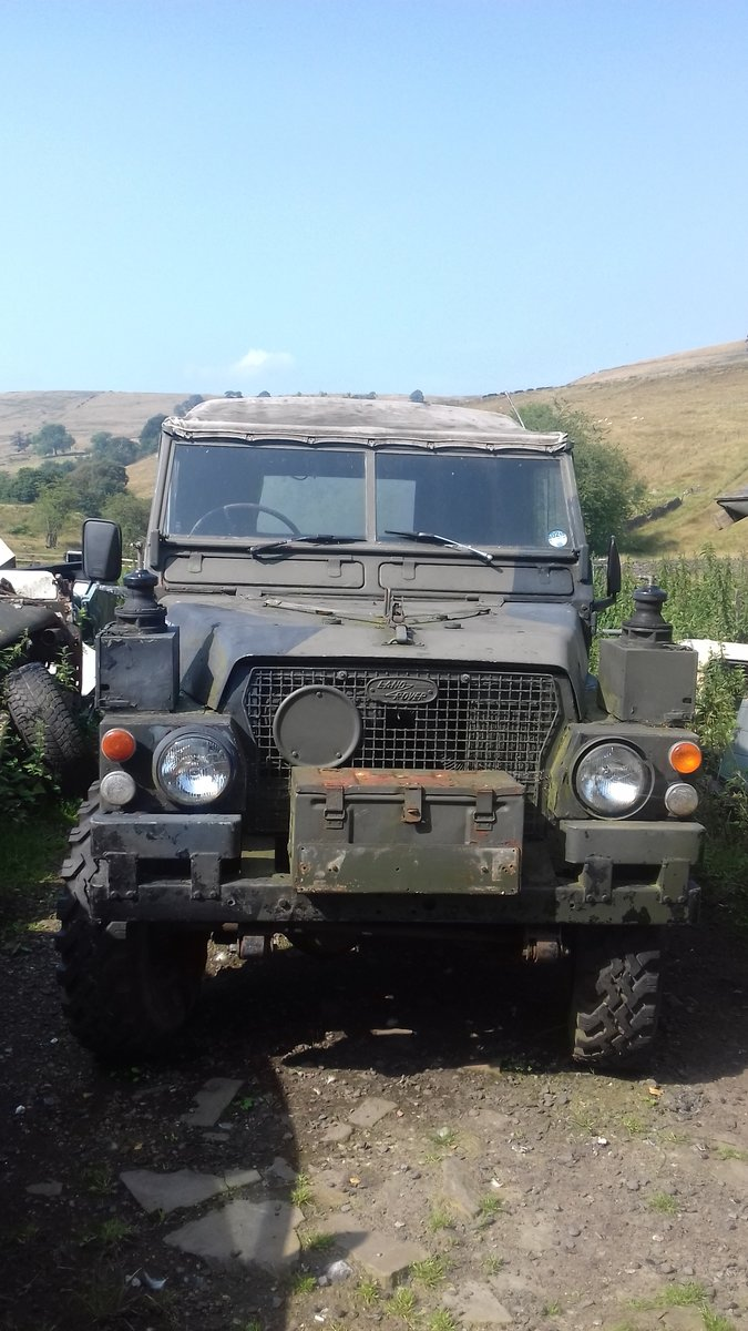 1974 Land Rover Series 3 Lightweight  SOLD (picture 1 of 2)
