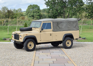 2000 Land Rover 110 Defender 4C Diesel  For Sale by Auction